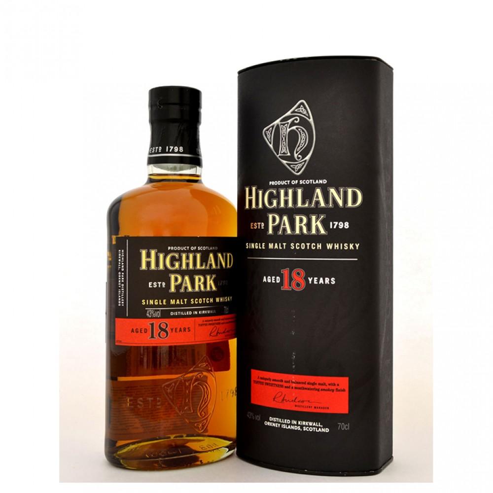 Виски Хайлэнд Парк 18 лет (туба)