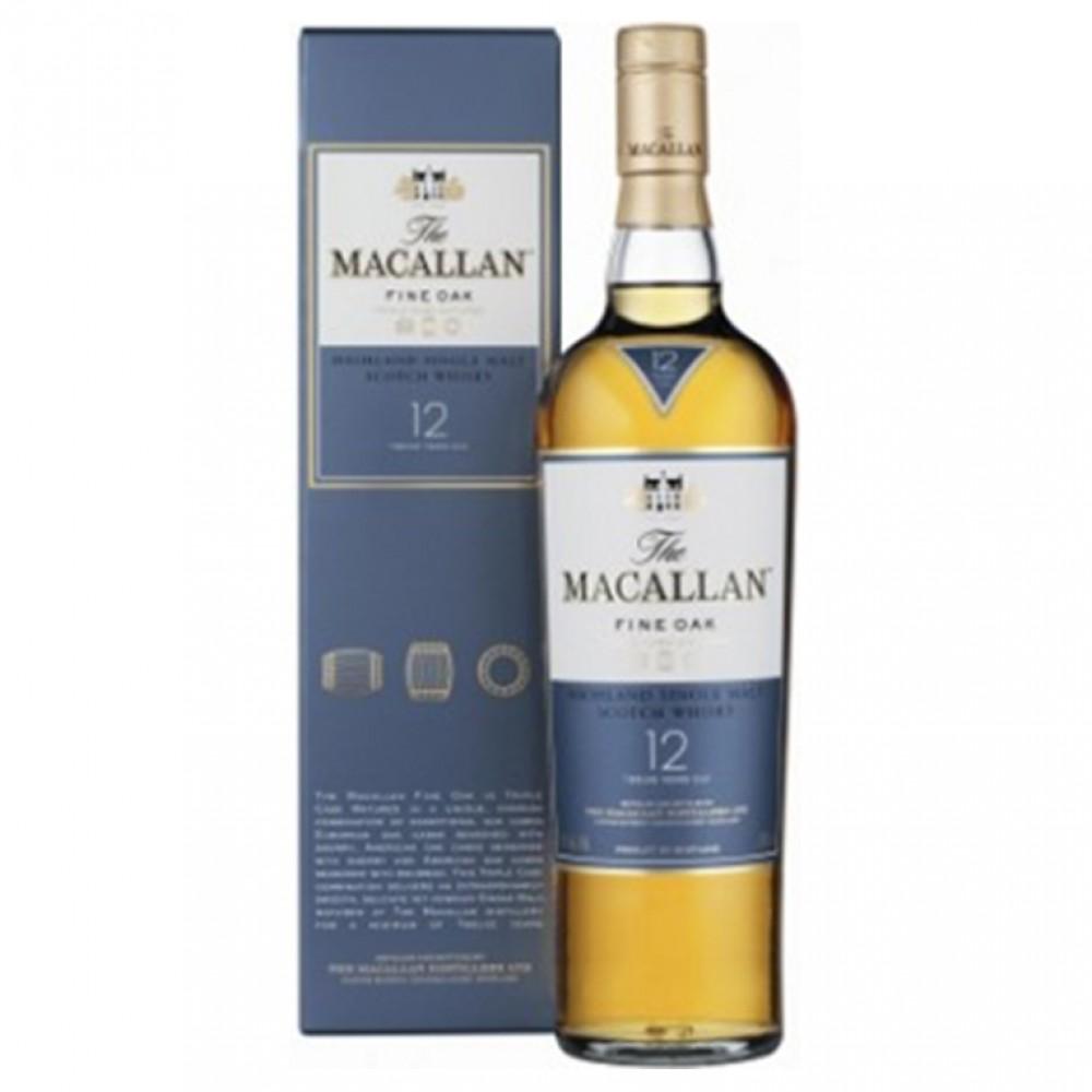 Виски Макаллан Файн Ок 12 лет 0,7 п/к