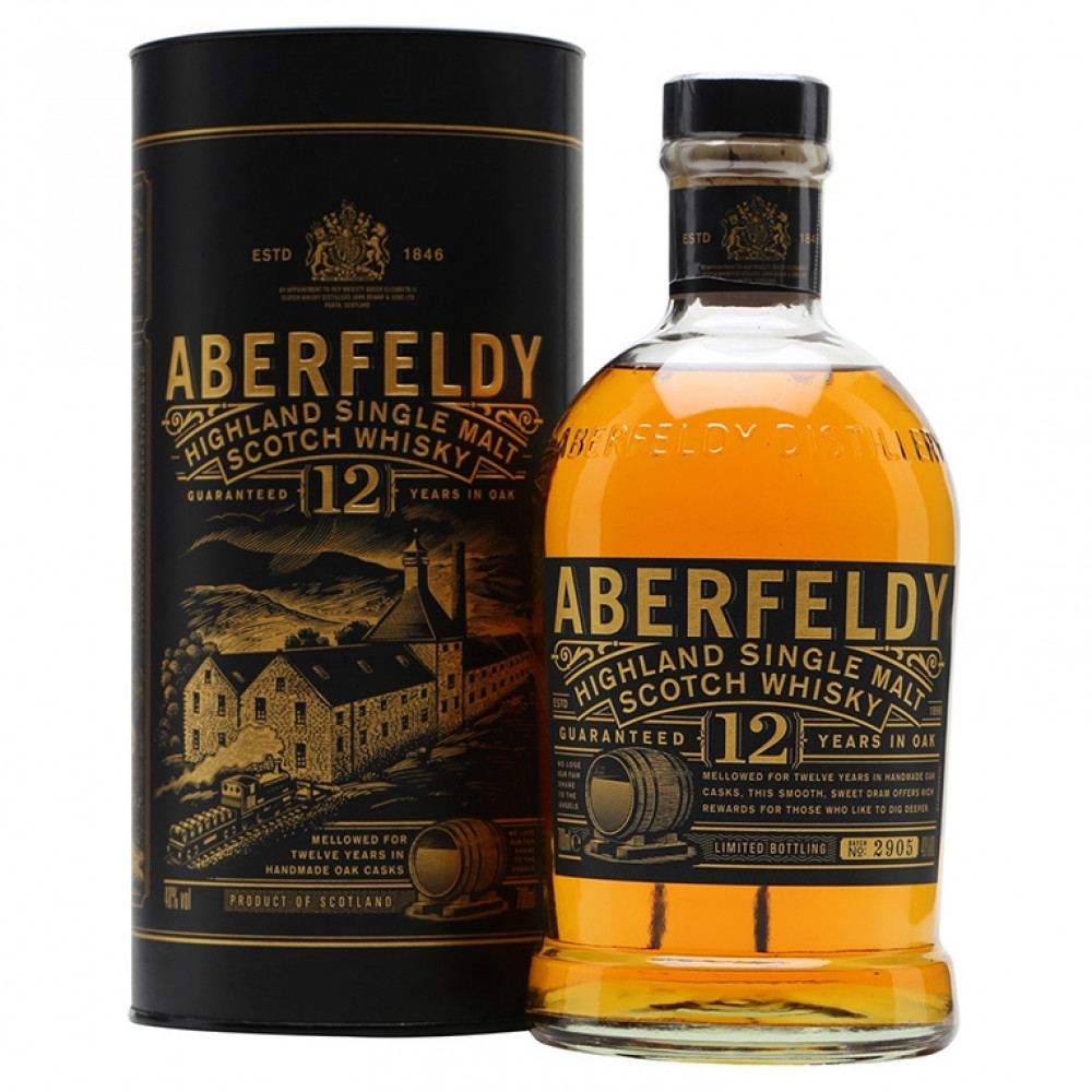 Виски Аберфелди 12 лет (туба)