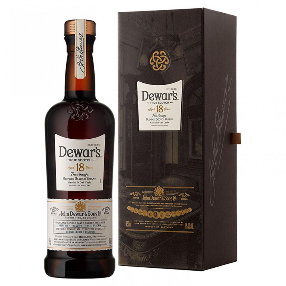 Виски Дюарс Фаундерс Резерв 18 лет (п/к)  0.750