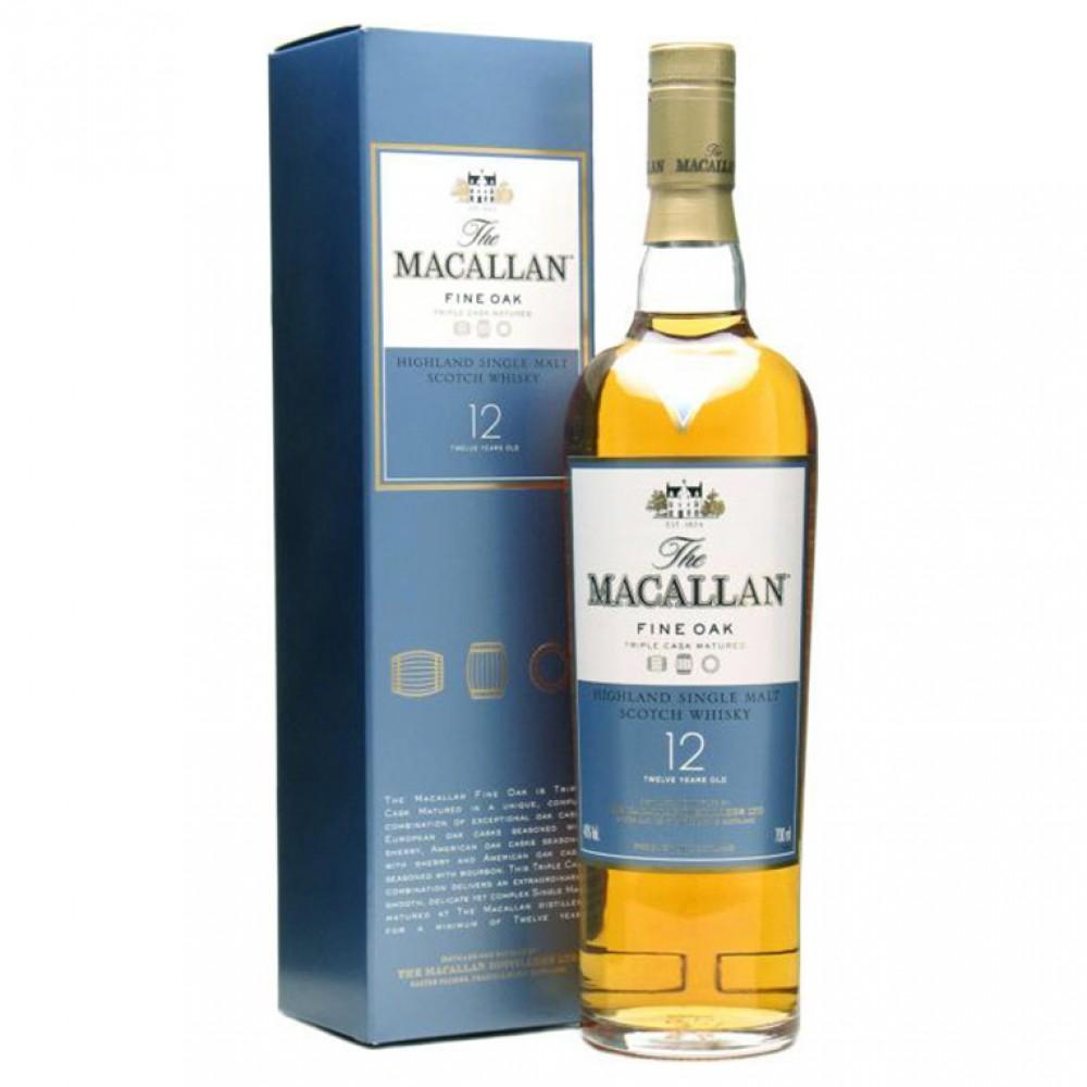 Виски Макаллан Файн Ок 12 лет (п/к)