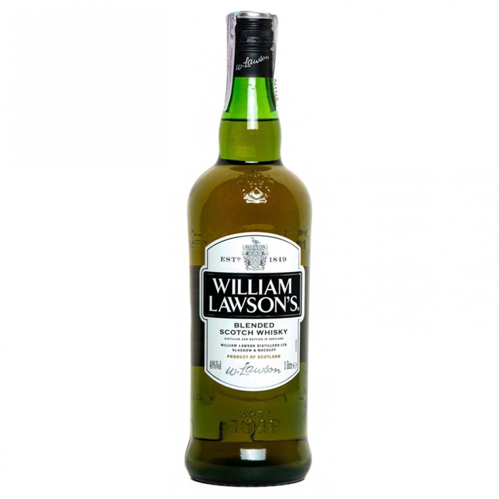 """Виски Вильям Лоусонс 40% 1.0  """"ТРАДИЦИИ КАЧЕСТВА"""""""