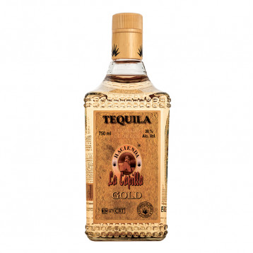 Текила Асьенда Ла Капилла Голд 0,75 Compania Tequilera Hasienda La Capilla
