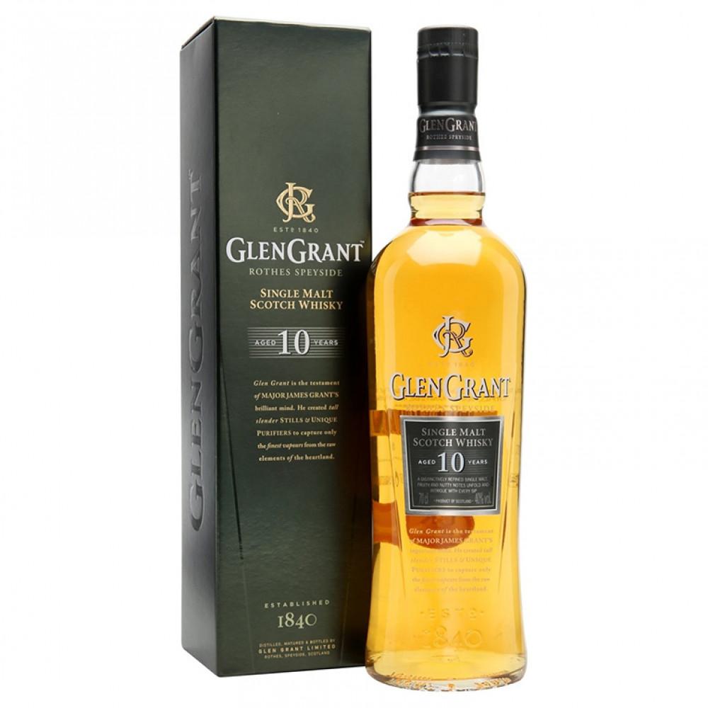 Виски Глен Грант 10 лет (п/к)  0.700