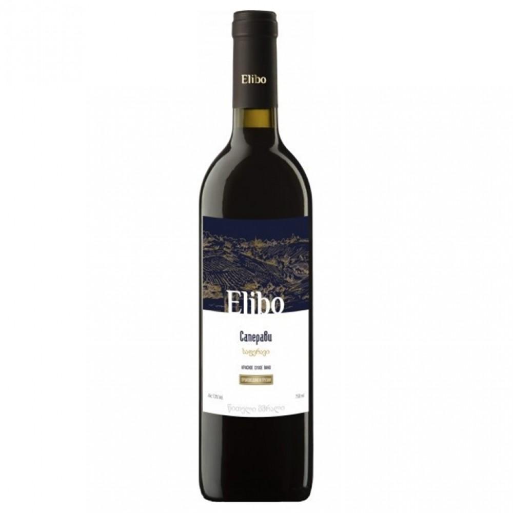 Вино Элибо Саперави кр. сух