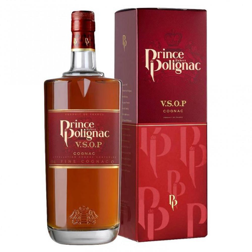 Коньяк Принц Юбер де Полиньяк VSOP 0.5 (п/к)  0.500