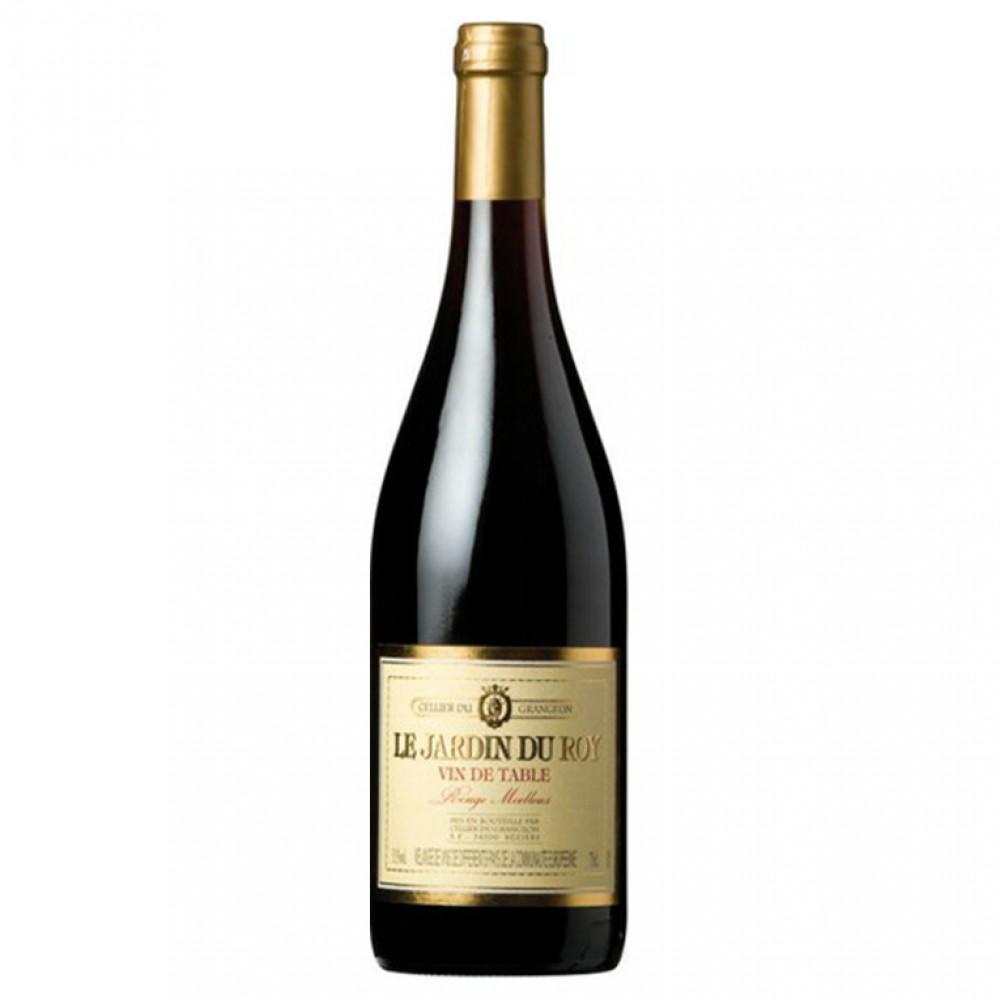 "Вино столовое красное п/сл ""Ле Жардаен дю Руа VDCB"" 0,75 10,5%"