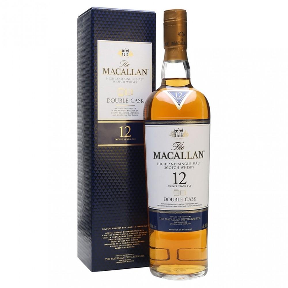 Виски Макаллан Дабл Каск 12 лет (п/к)  Macallan Distillers