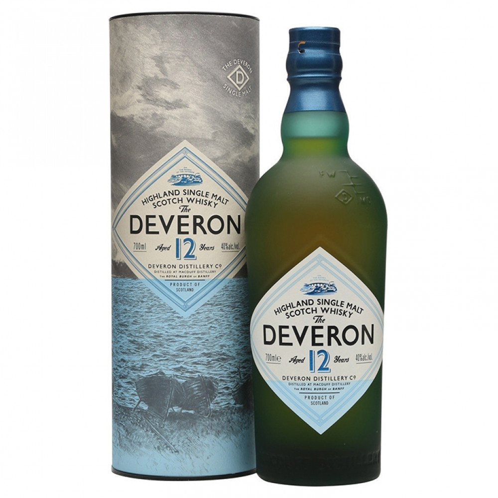 Виски Дэверон 12 (п/к)