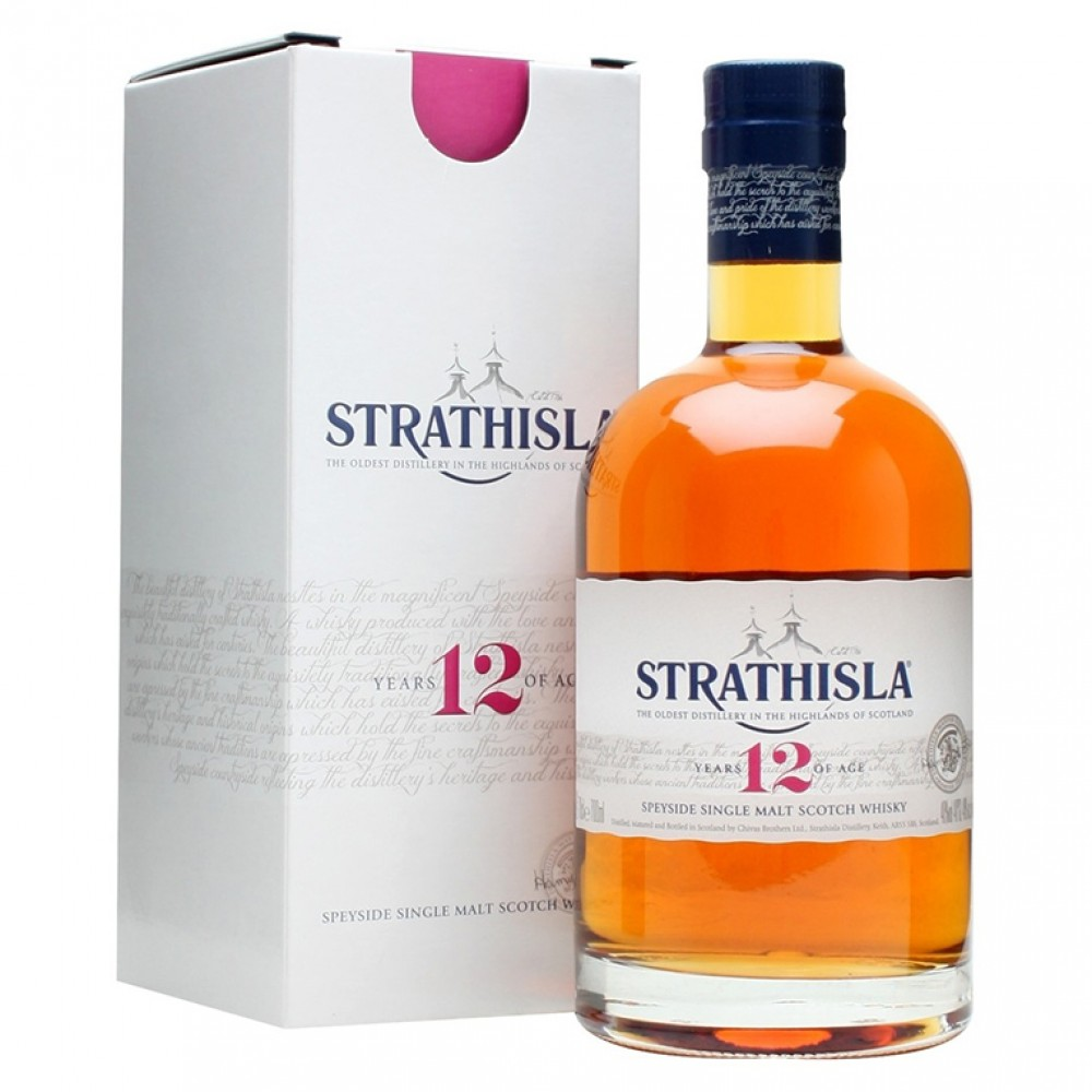 Виски Стратайла 12 лет (п/к)