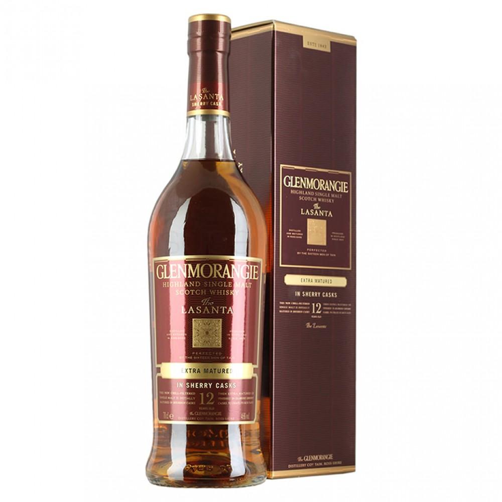 Виски Гленморанджи Ласанта 12 лет (п/к)
