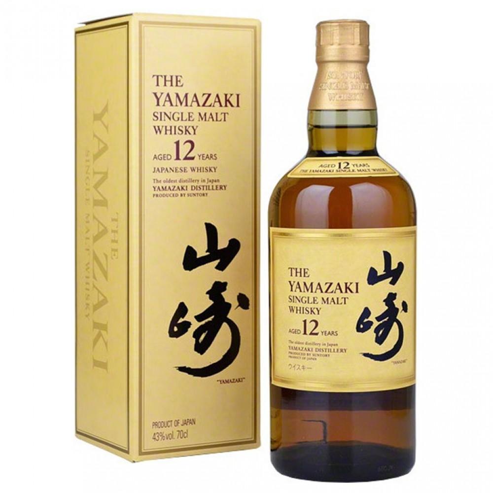 Виски Сантори Ямазаки 12 лет (п/к)