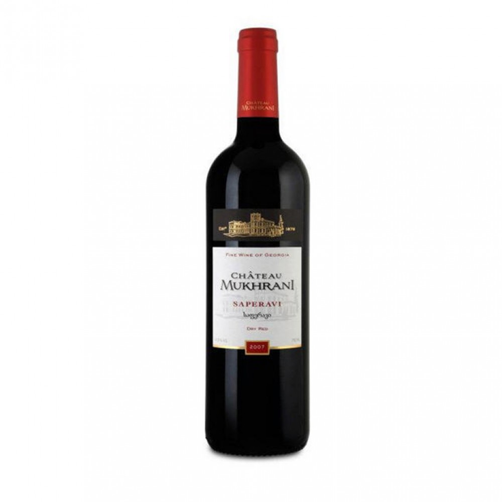 Вино Саперави кр сух 2014 Шато Мухрани