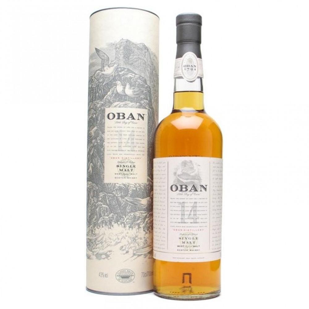 Виски Оубэн 14 лет (туба)
