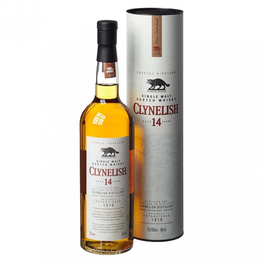 Виски Клайнелиш 14 лет (туба)