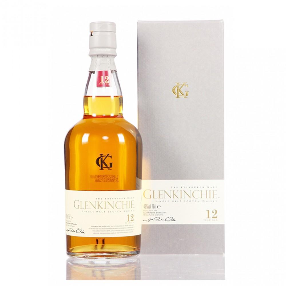 Виски Гленкинчи 12 лет  (п/к)