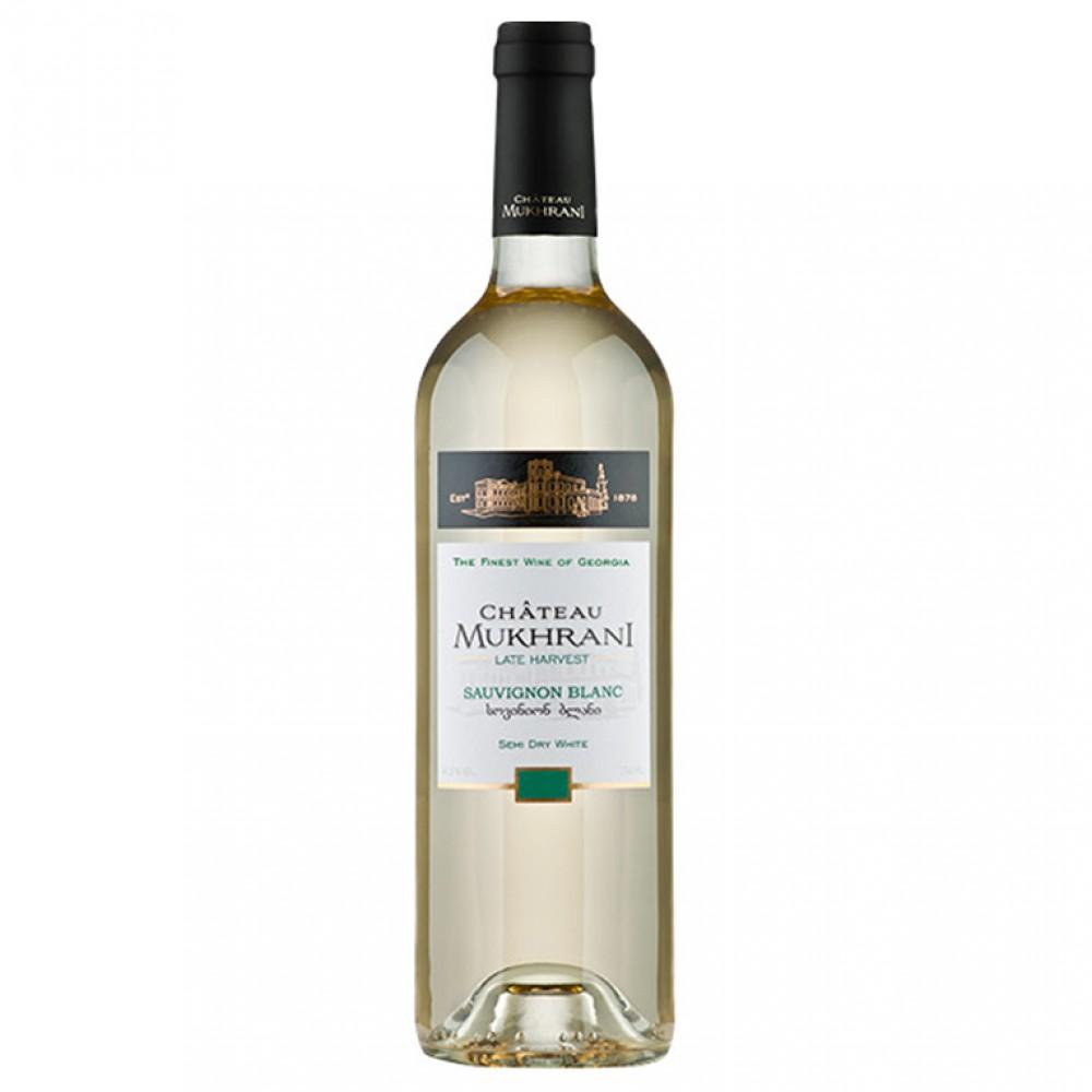 Вино Совиньон Блан п/сл бел 2013 Шато Мухрани