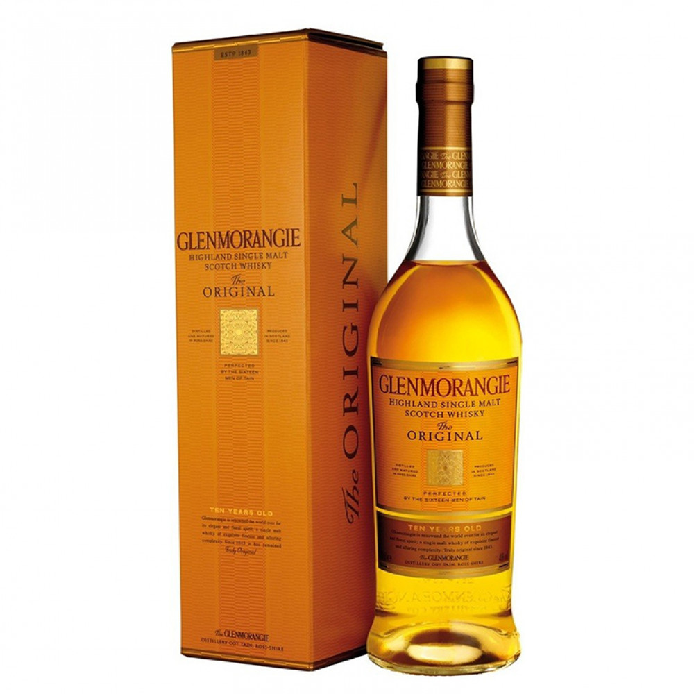 Виски Гленморанджи Орижинал 10 лет (п/к)
