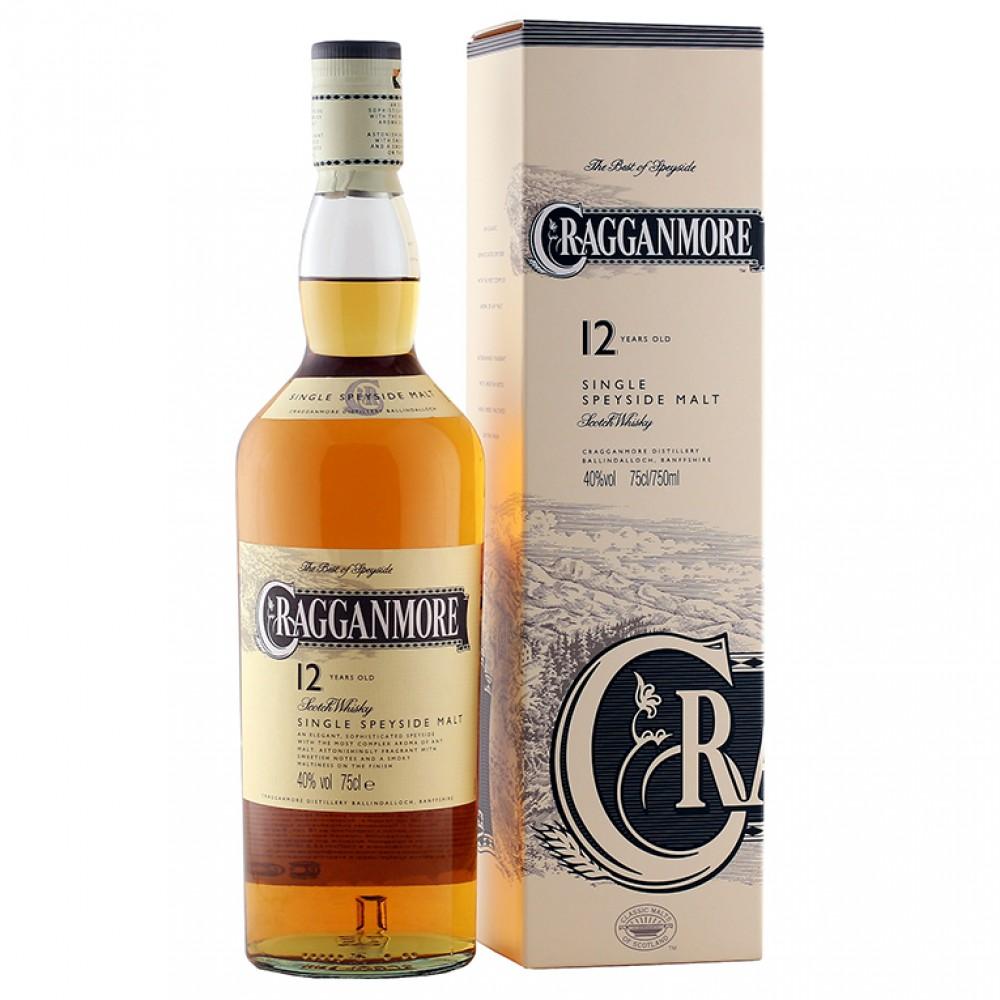 Виски Краганмо 12 лет (п/к)
