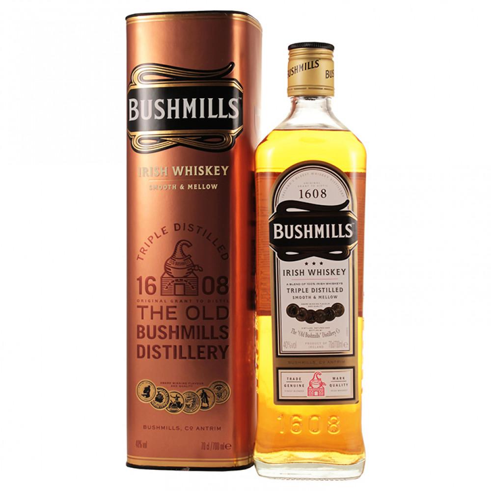 Виски Бушмилз Орижинал (туба)  0.700