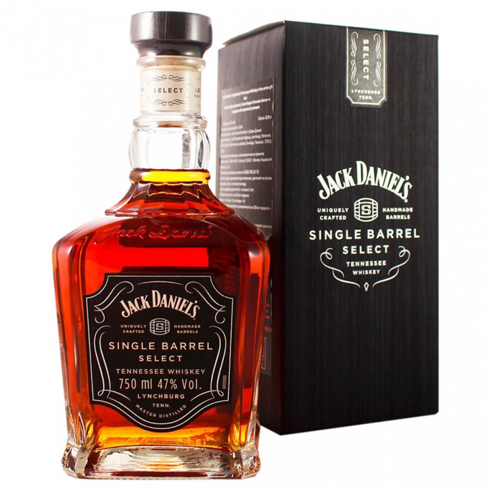 Виски Джек Дэниэлс Сингл Бэррэл Теннесси (п/к)  0.750