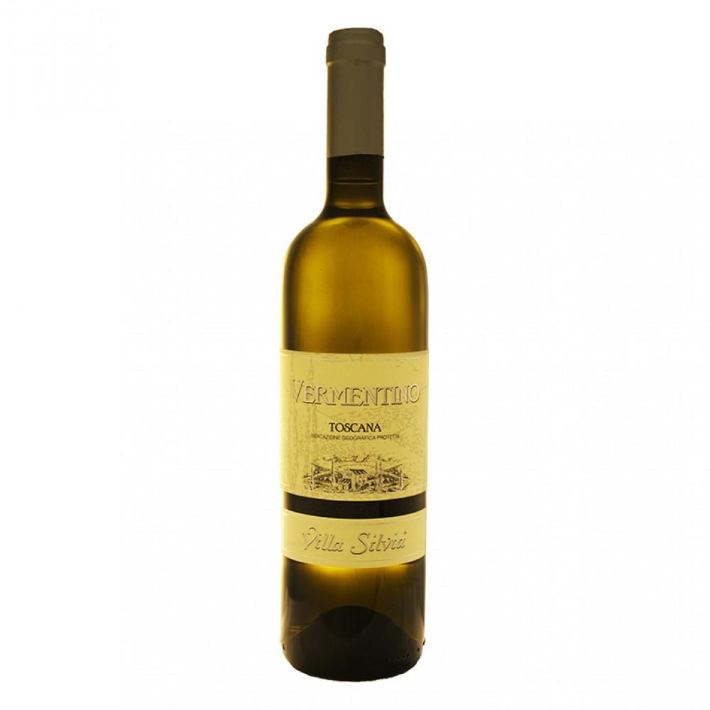 Верментино Тоскана ИГП Вилла Сильвия бел сух 2017 0.750