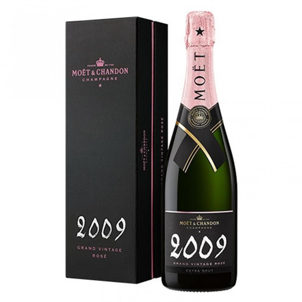 Моэт и Шандон Гран Винтаж Розе брют роз (п/к) 2012 0.750