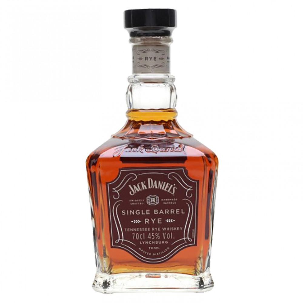 Виски Джек Дэниелс Сингл Бэррэл Рай 0.700