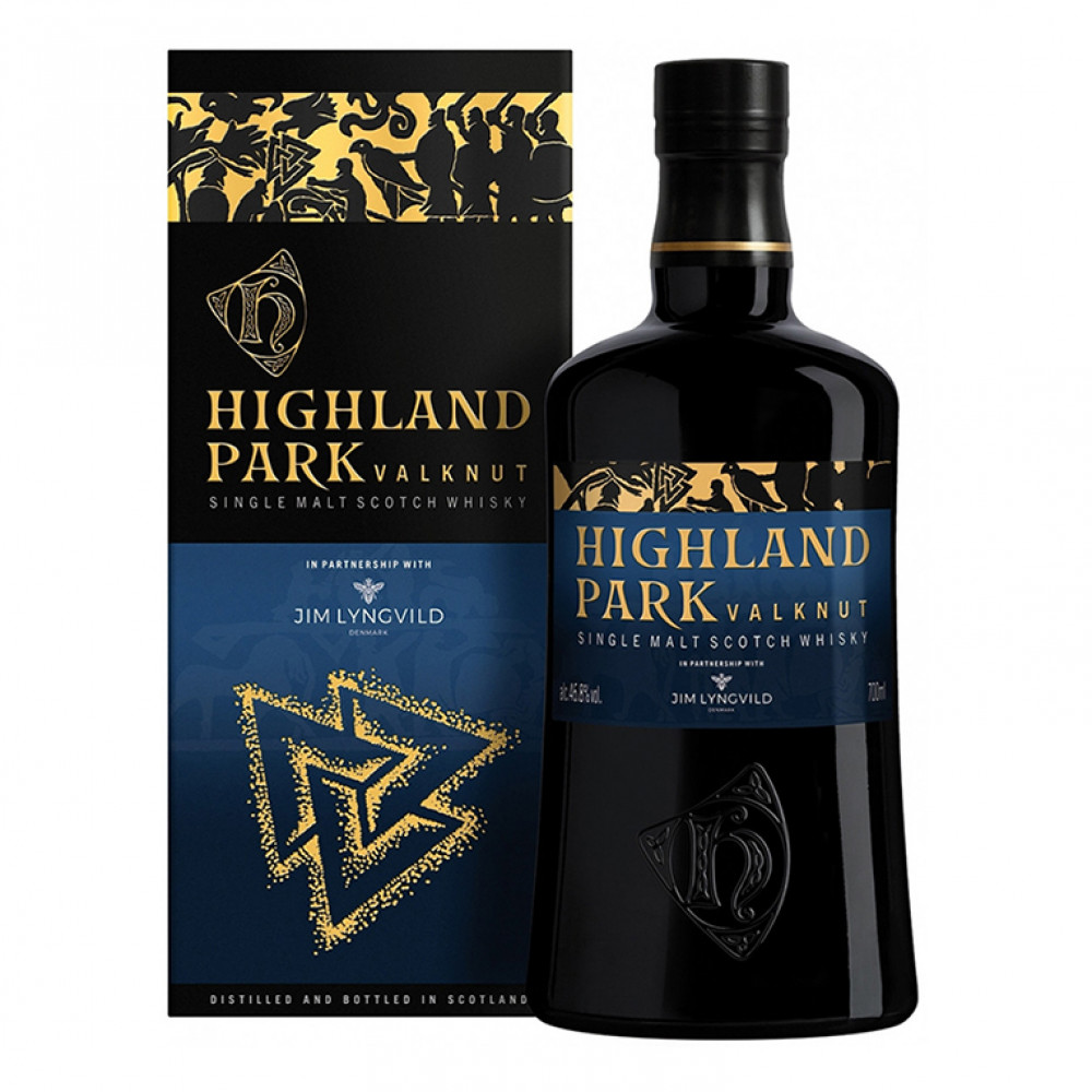 Виски Хайлэнд Парк Валькнут (п/к)  0.700