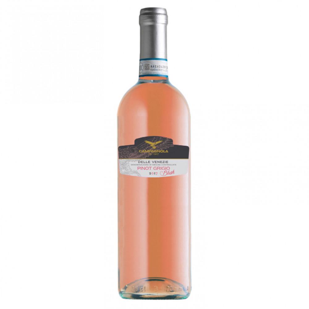 Пино Гриджио дель Венеция Блаш ДОК роз сух 0.75 2019 0.750