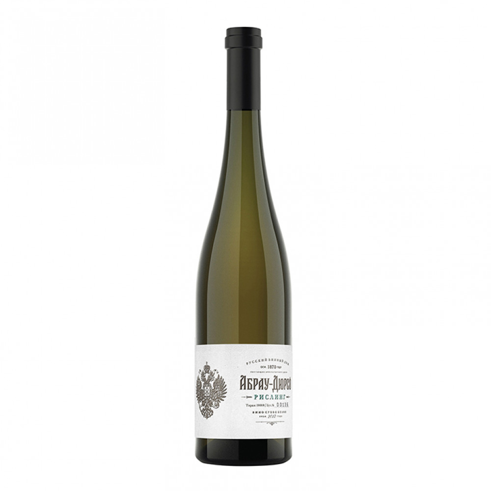 Вино Абрау-Дюрсо Рислинг Премиум бел сух 2017 0.750