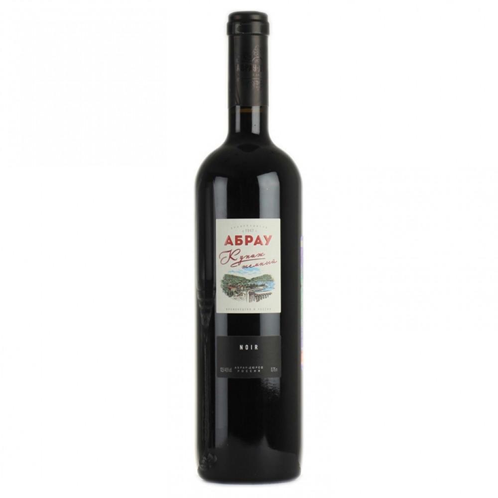 Вино Абрау Купаж темный кр сух 0.750