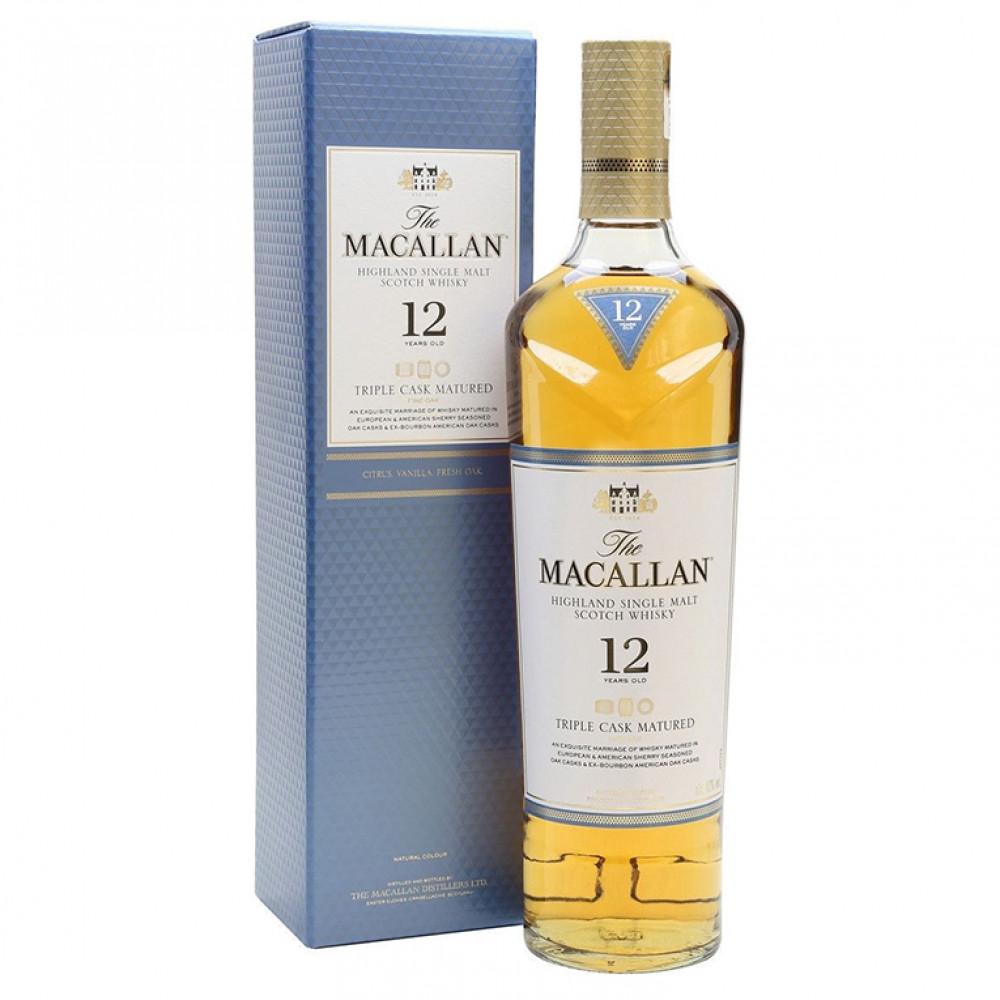 Виски Макаллан Трипл Каск Мэйчурд 12 лет (п/к)  0.700