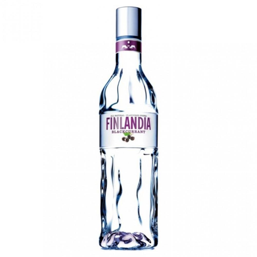 Настойка Финляндия Блэккуррант со вкусом чёрн смор 0.500