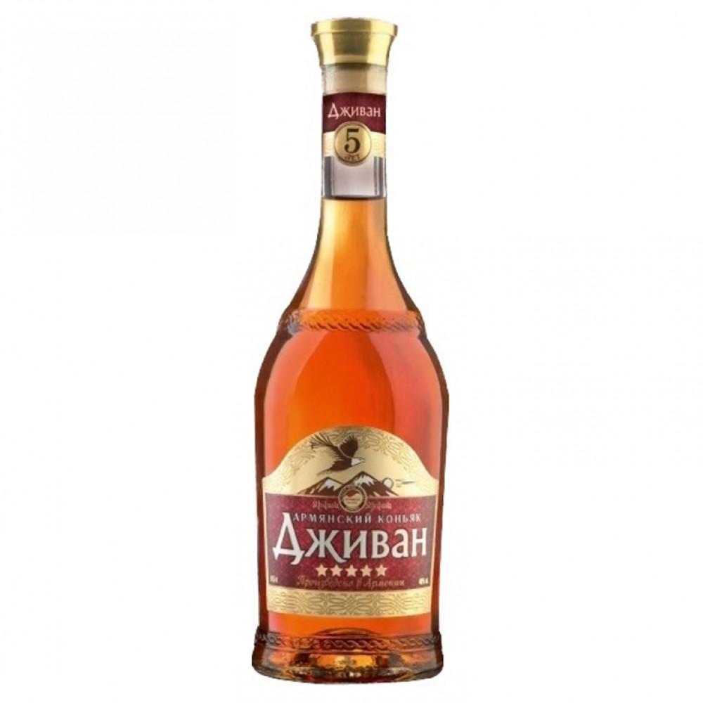 Коньяк Дживан 5* 0.500