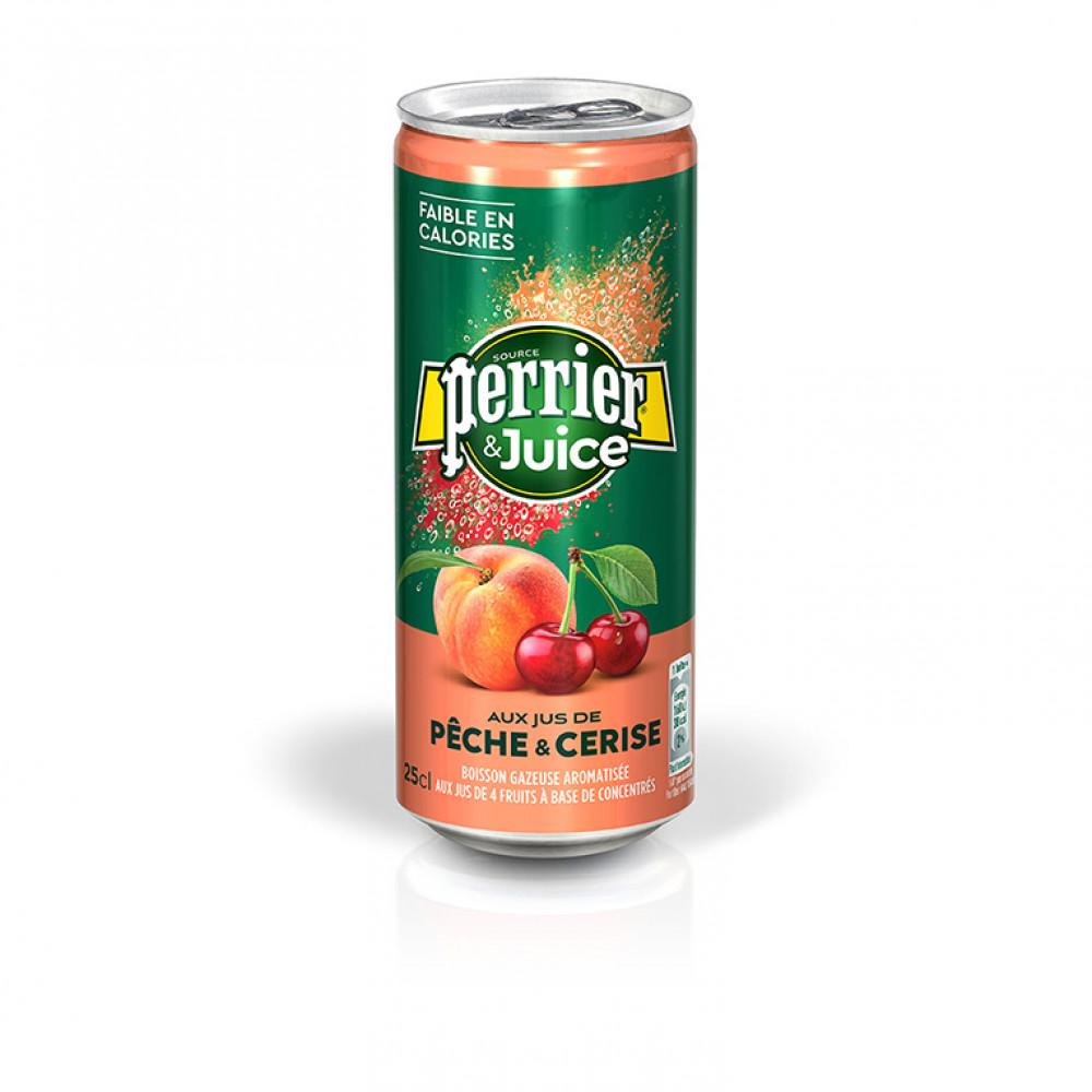 Напиток газ Перье персик-виншя ал/б 0.250
