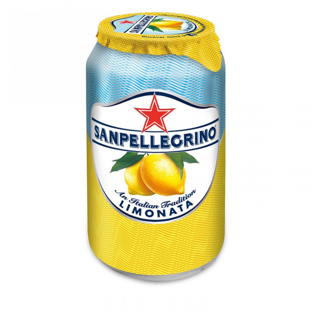 Напиток газ сокосод С.Пеллегрино лимон ал/б 0.330