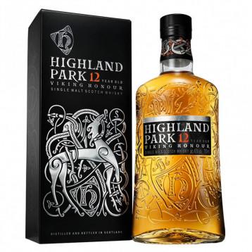 Виски Хайлэнд Парк 12 лет Викинг Онор (туба)  0.700