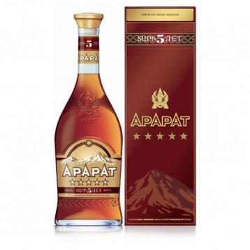 Коньяк Арарат 5* (п/к)  0.500