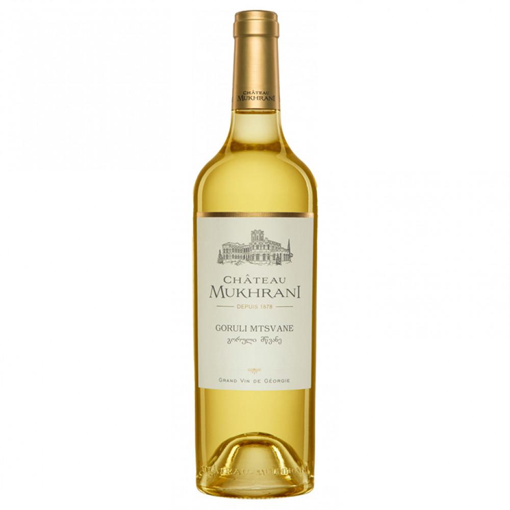 Вино Горули Мцване сух бел 12,5% 0,75 (Мухрани)  (НМ)  0.750
