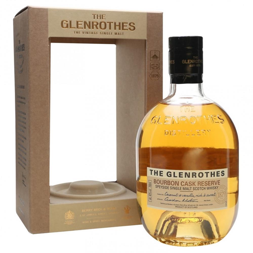 Виски Гленротс Бурбон Каск Резерв (п/к)  0.700