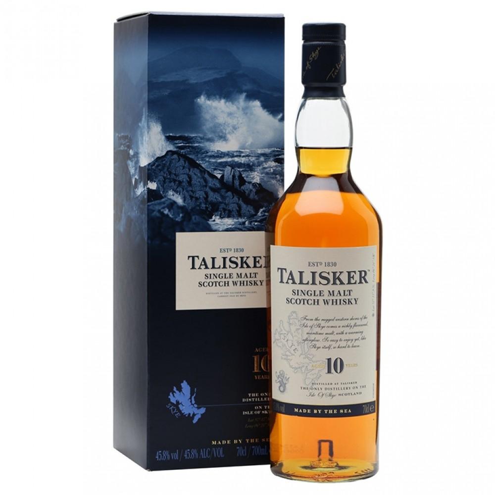 Виски Талискер 10 лет (п/к)  0.750
