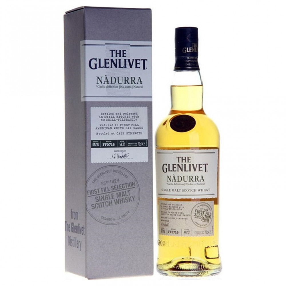 Виски Гленливет Надурра Фест Филл Селекшн (п/к)  0.700