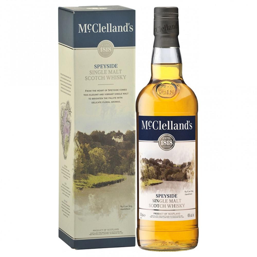 Виски МакЛелэнд'с Спейсайд (п/к)  0.700