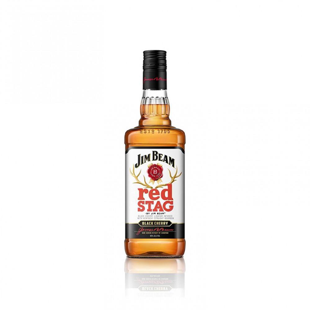 Виски Джим Бим Рэд Стаг Блэк Черри 0.500