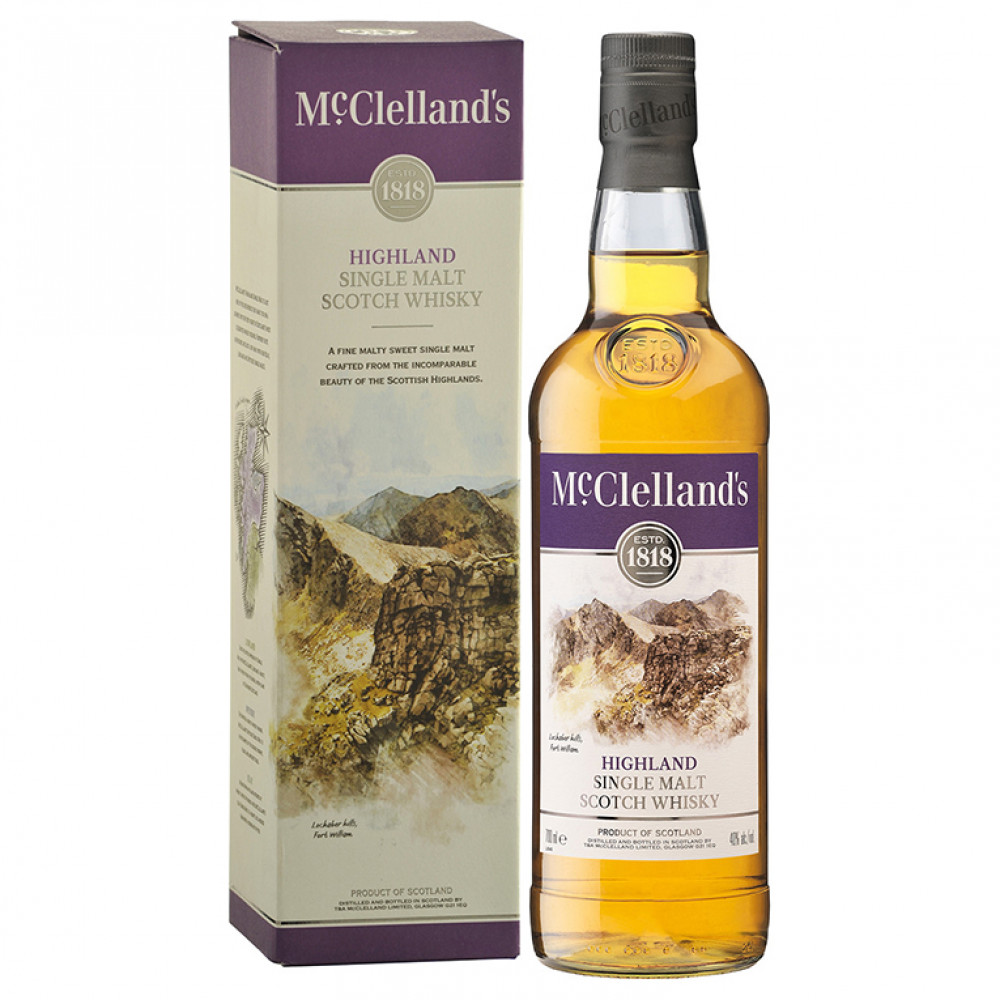Виски МакЛелэнд'с Хайлэнд (п/к)  0.700