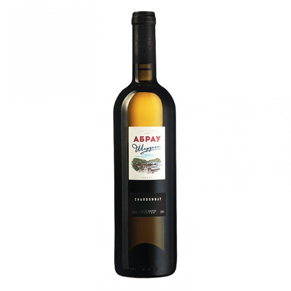 Вино Абрау Шардоне бел сух 0.750