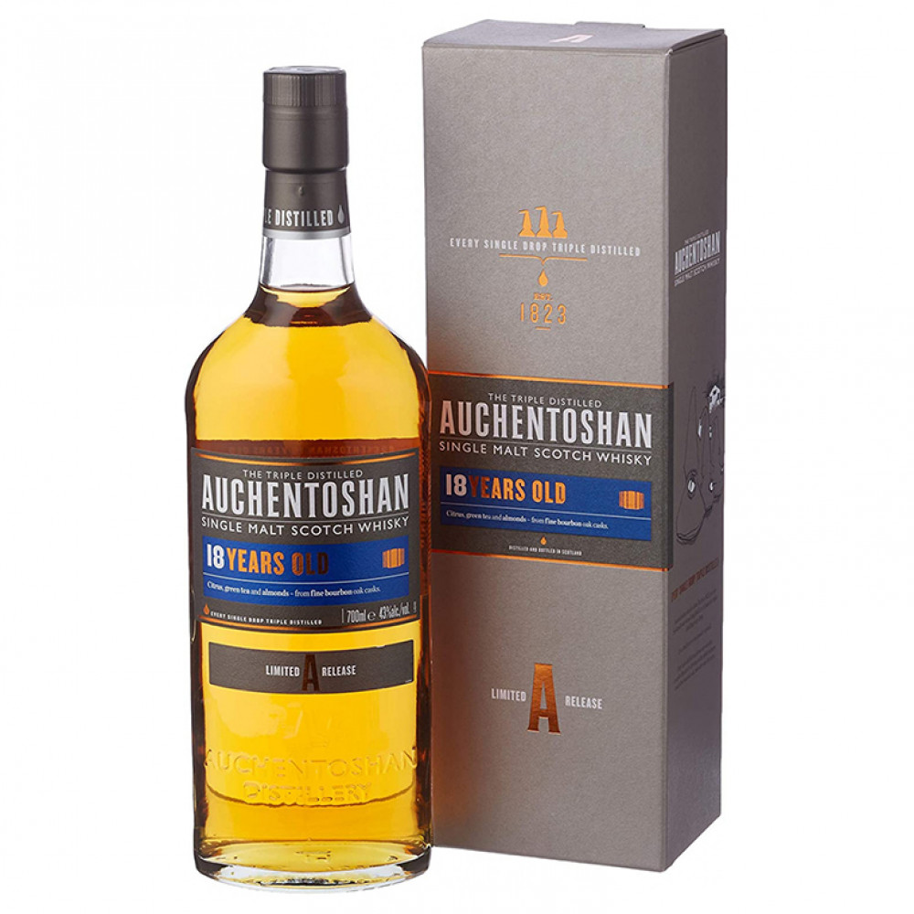 Виски Акентошан 18 лет (п/к)  0.700