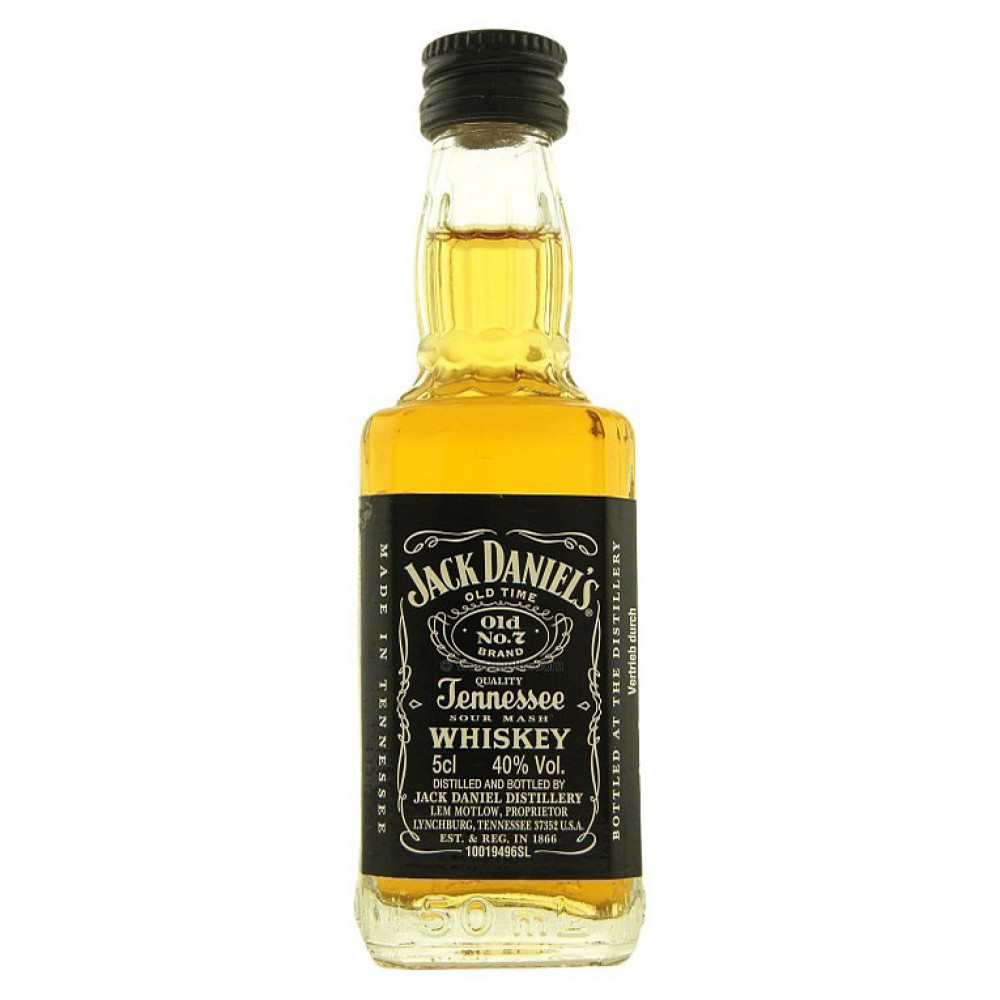 Виски Джек Дэниэлс Теннесси 0.050