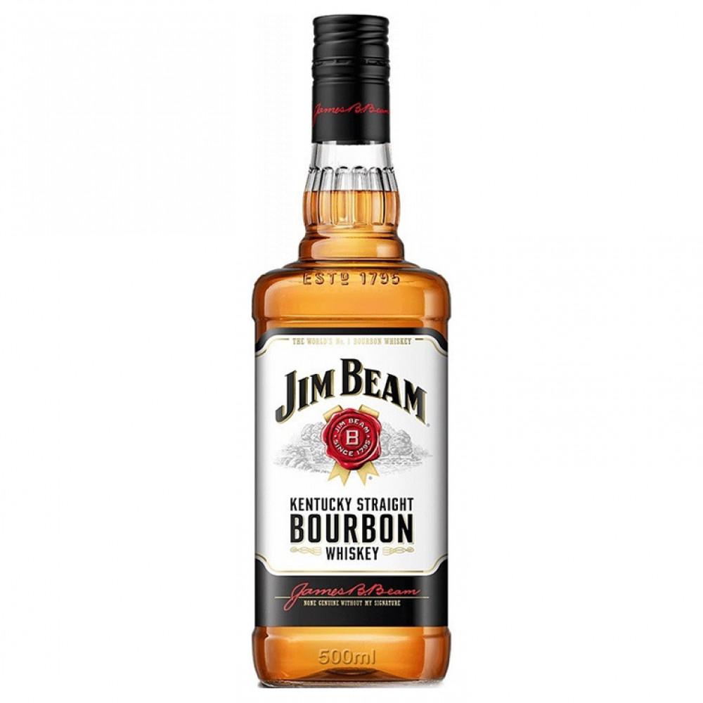 Виски Джим Бим 4 года 0.500